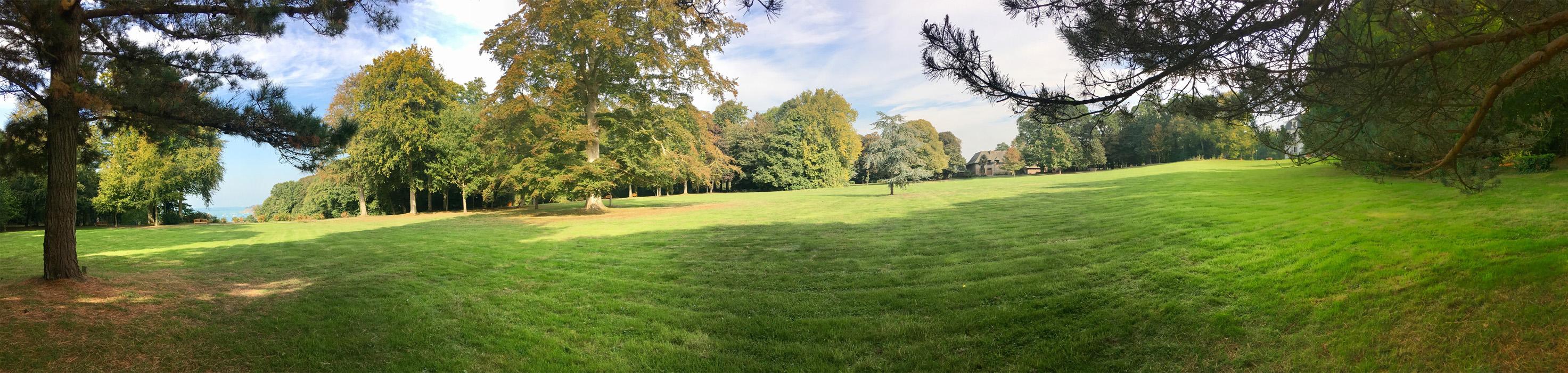 Panorama parc de la Briantais