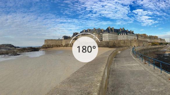 Saint-Malo en 180°