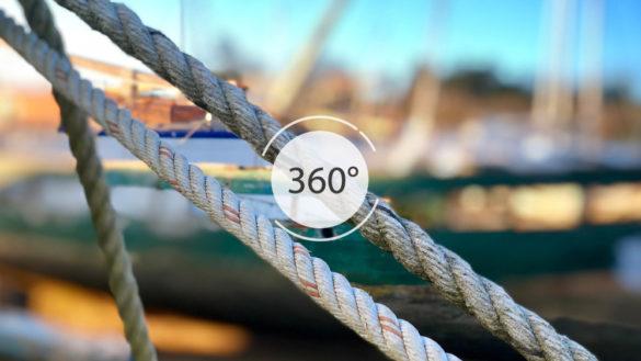 Cimetière des bateaux en 360°