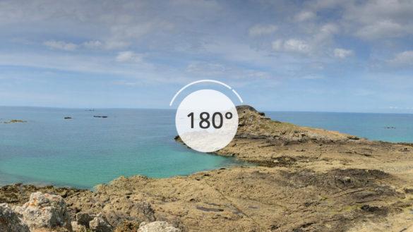 Île Besnard en 180°
