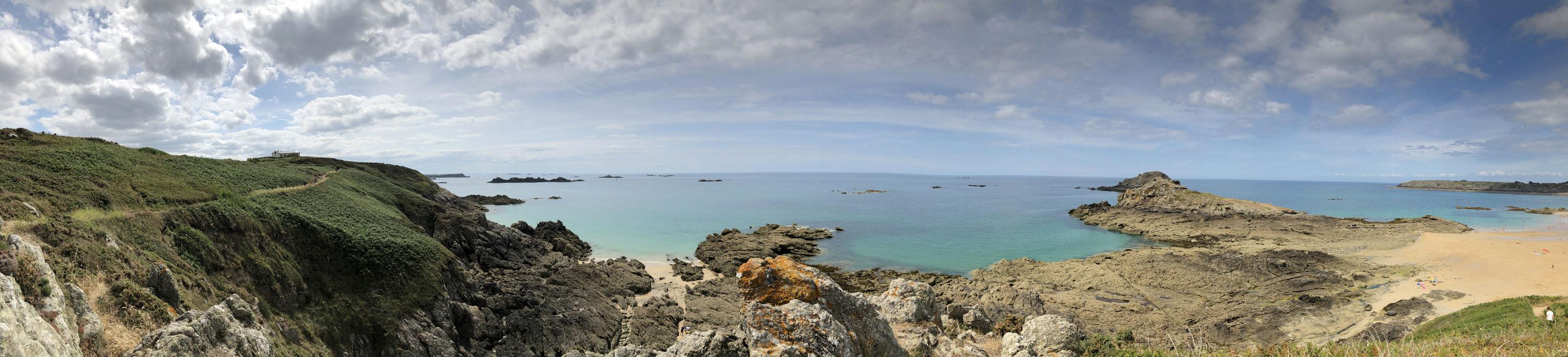 Panorama île Besnard