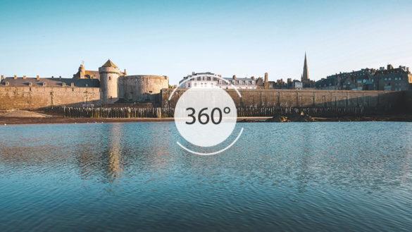 Tour des remparts en 360°