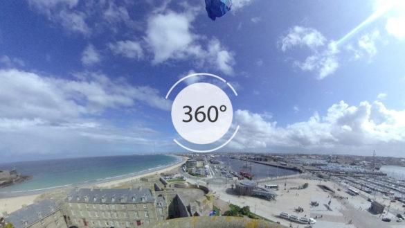 Château de Saint-Malo en 360°