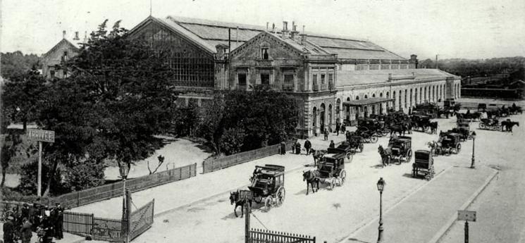 Autrefois gare de Saint-Malo