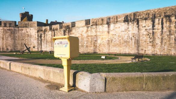 Localisation des boîtes aux lettres