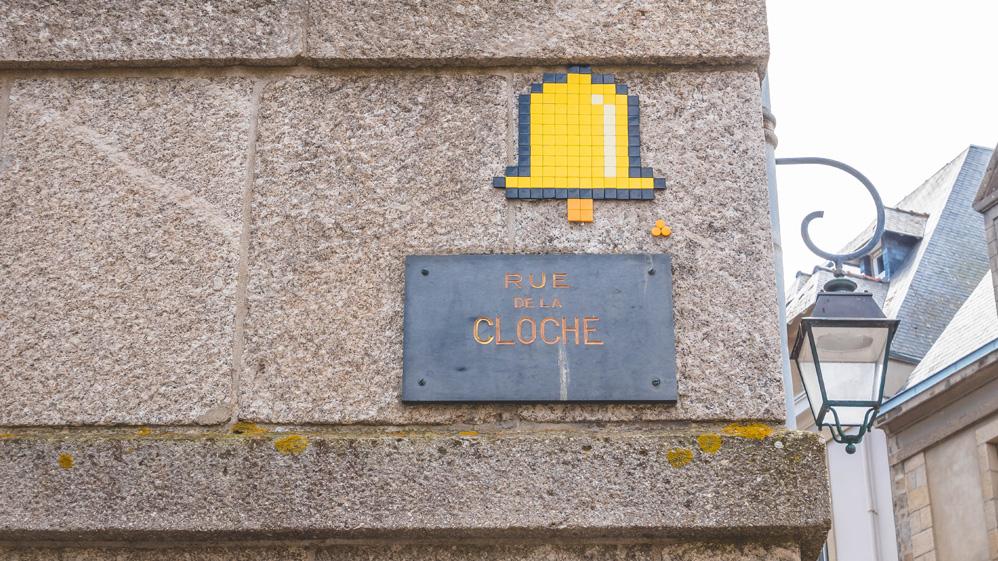 Pixel art à Saint-Malo