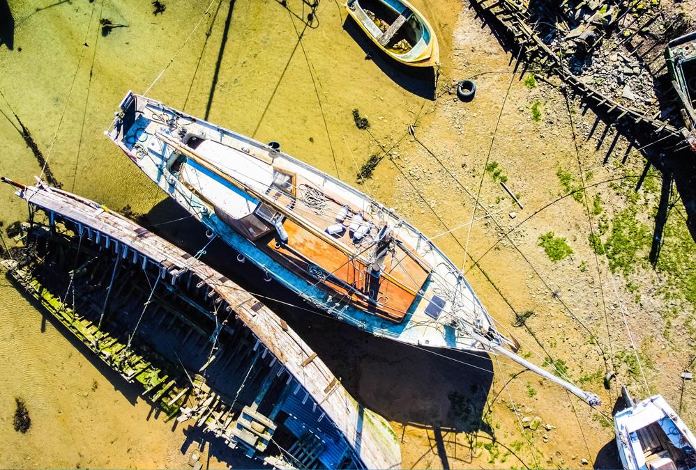 Cimetière de bateaux