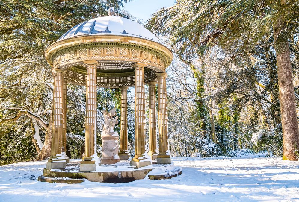 Saint-Malo sous la neige